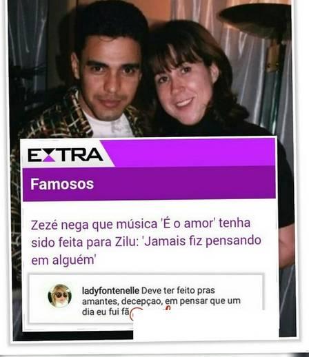 """Antônia Fontenelle ataca Zezé: """"Deve ter feito para as amantes"""""""