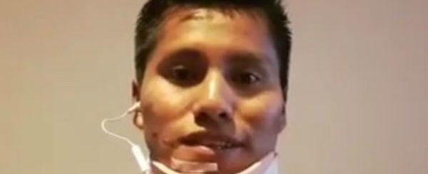 Sobrevivente de acidente aéreo nega ter ficado em posição fetal