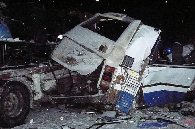 Acidente ocorreu na rodovia entre as cidades de Khanty-Mansiysk e Tumen (Crédito: Reprodução)