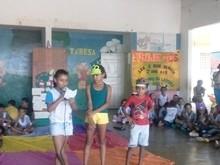A Escola Municipal Teresa Feita Realizou a culminância de Projetos