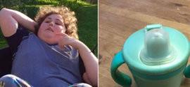 Pai encontra caneca do filho autista; ele não bebe em outra