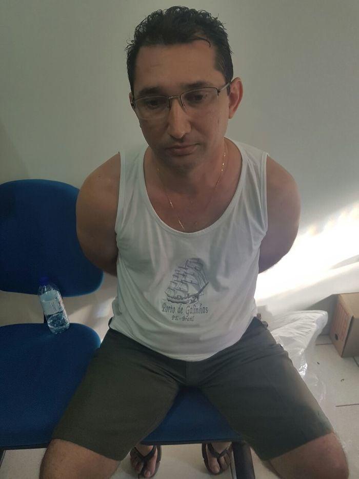Funcionário da Infraero acusado de ser o mandante do crime (Crédito: Polícia Civil)