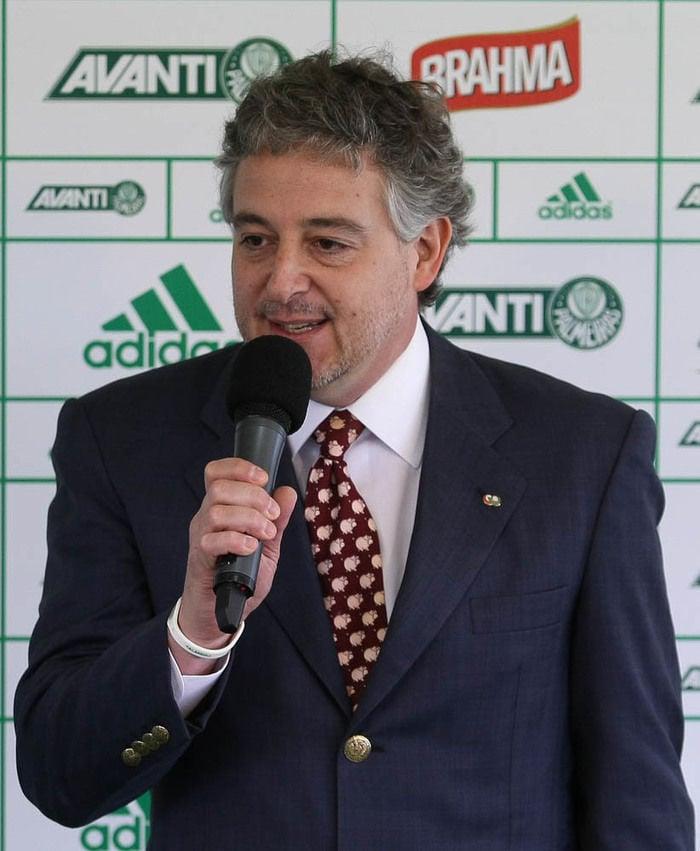 Paulo Nobre, presidente do Palmeiras (Crédito: Divulgação)