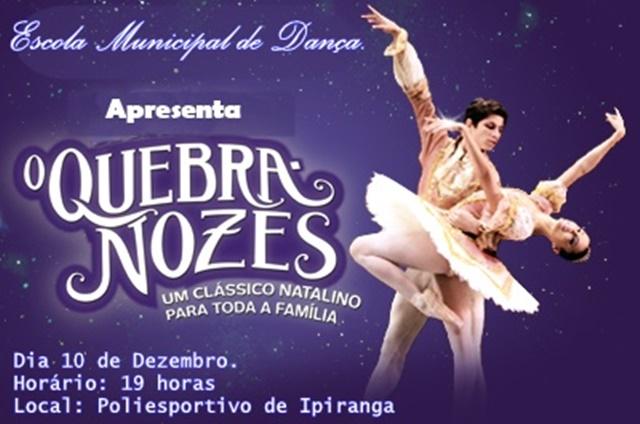 Espetáculo O Quebra-Nozes Será Apresentado em Ipiranga - Imagem 2