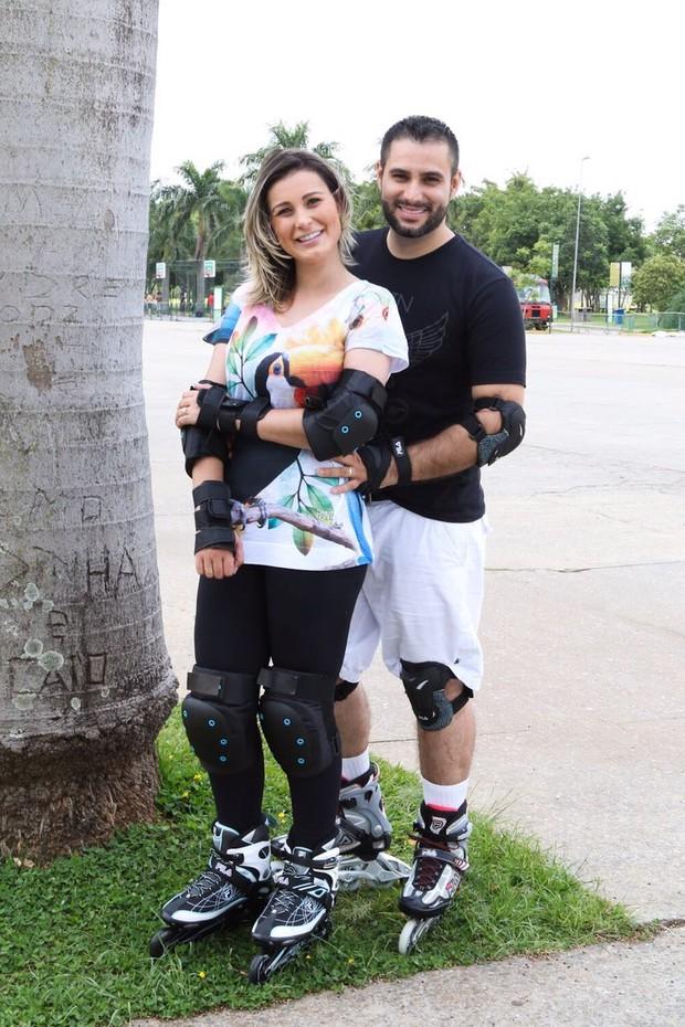 Andressa Urach e Tiago Costa  (Crédito: Divulgação)