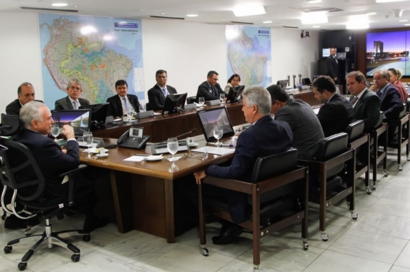 Reunião entre governadores e Michel Temer