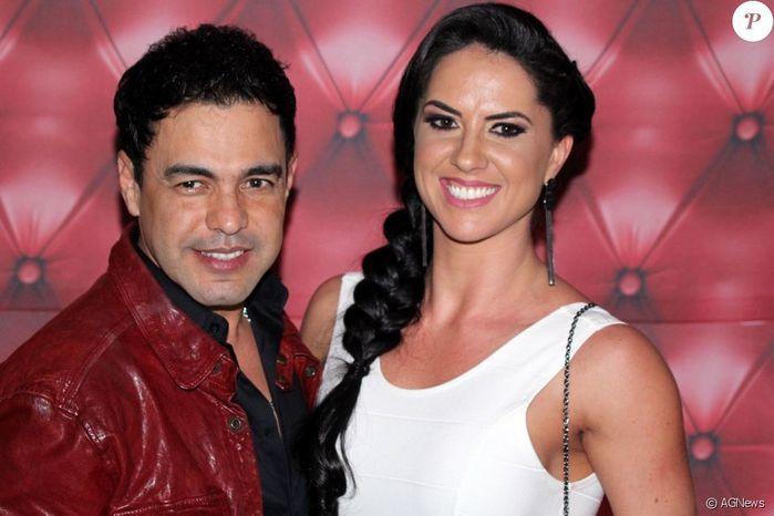 Zezé di Camargo e Graciele  (Crédito: Divulgação)