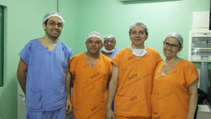 Equipe de Neurocirurgia do HGV
