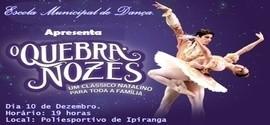 Espetáculo O Quebra-Nozes Será Apresentado em Ipiranga