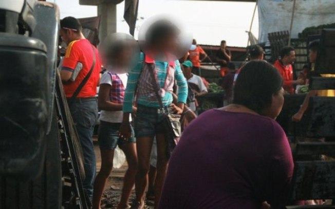 Movimento no mercado de Maracaibo (Crédito: BBC Brasil)
