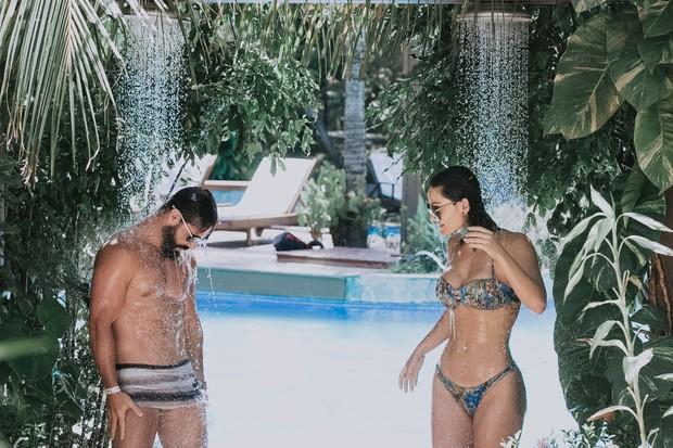 Jorge Sousa e Laura Keller em Natal (Crédito: Mostarda Company / R2assessoria)
