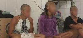 Mulheres são humilhadas e têm cabeças raspadas por traficantes