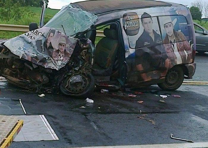 Dupla ficou ferida em acidente (Crédito: Divulgação)
