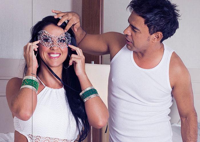 Graciele e Zezé di Camargo  (Crédito: Quem )