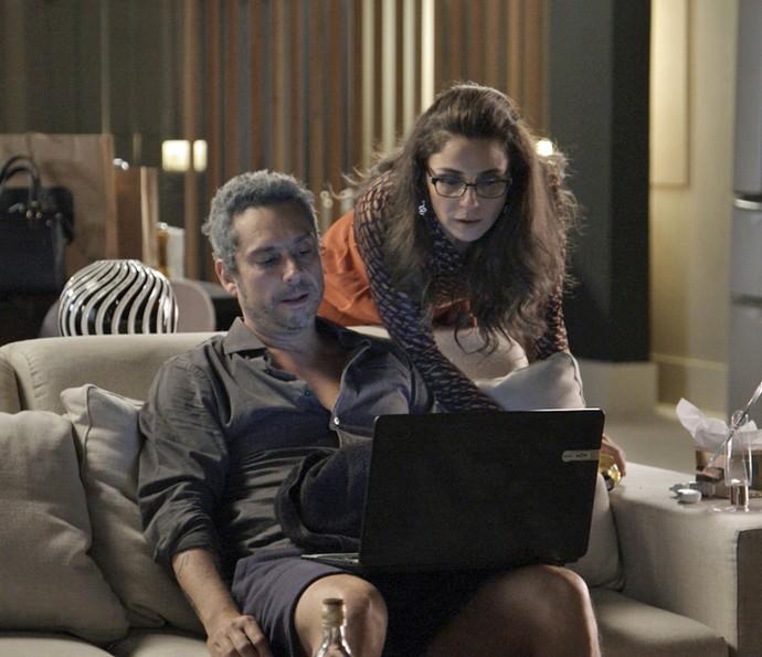 Romero e Atena (Crédito: Divulgação )