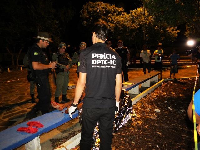 Cândido Gomes de Araújo é morto com golpes de faca (Crédito: Reprodução)