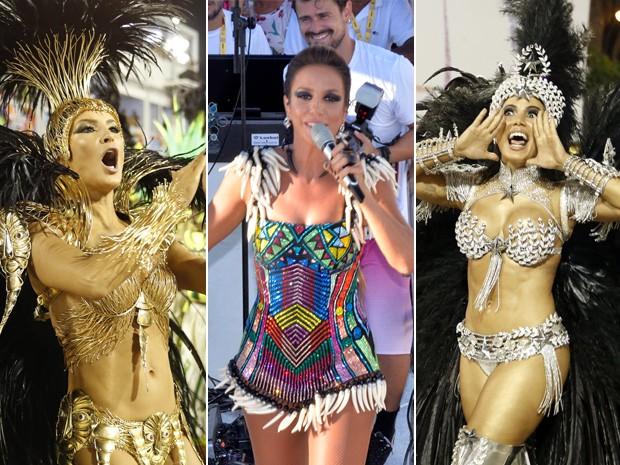 Claudia Leitte, Ivete Sangalo e Anitta
