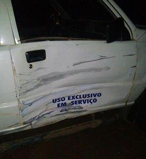 Veículo é de propriedade da Secretaria de Sebastião Barros