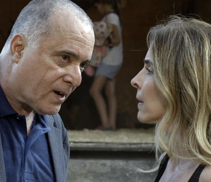 Zé Maria consegue resgatar Kiki (Crédito: TV Globo)