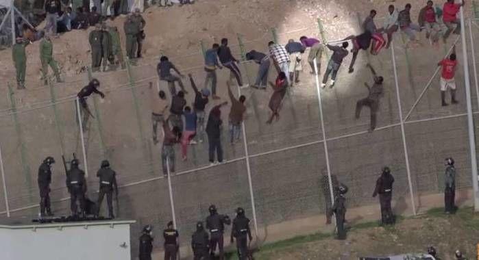 Muro da fronteira (Crédito: Reprodução)