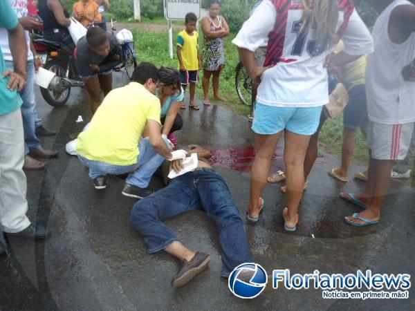 Vítima morreu ao chegar no hospital (Crédito: Reprodução)