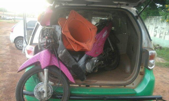 Motos roubadas encontradas abandonadas