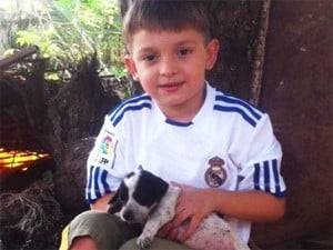 Pedro Paulo Lemes, de 5 anos