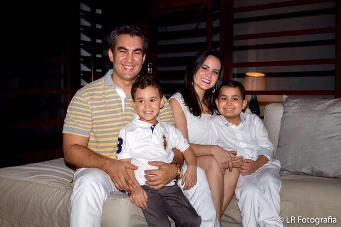Pequeno Caio e sua família (Crédito: Reprodução)