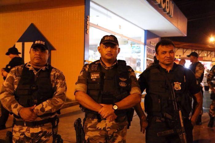 Polícia envolvida na operação (Crédito: Reprodução)