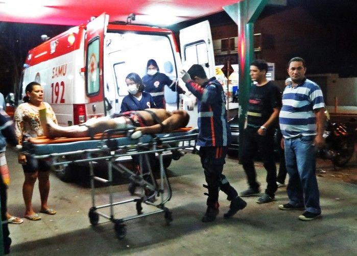 Jean foi baleado  (Crédito: Costa Norte)