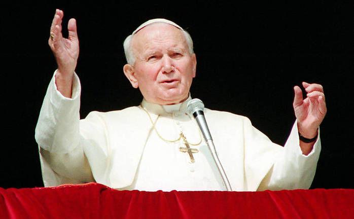 Papa João Paulo II  (Crédito: Reprodução)