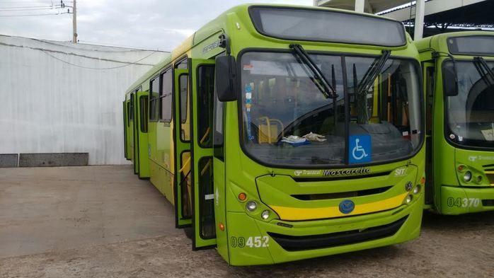 Começam a circular nesta terça-feira em Teresina 12 novos ônibus climatizados
