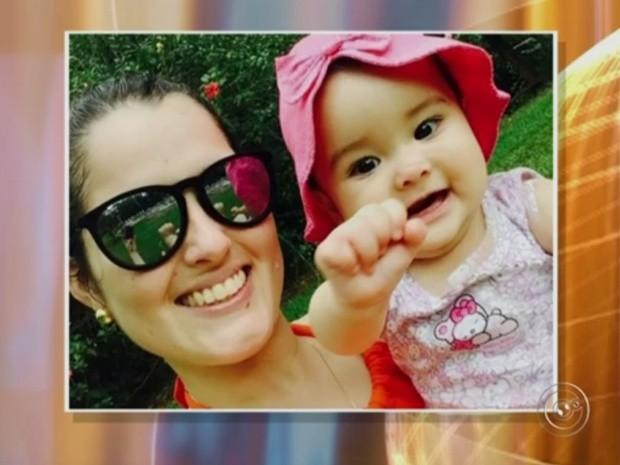 Lorena, de nove meses, não resistiu (Crédito: Reprodução)
