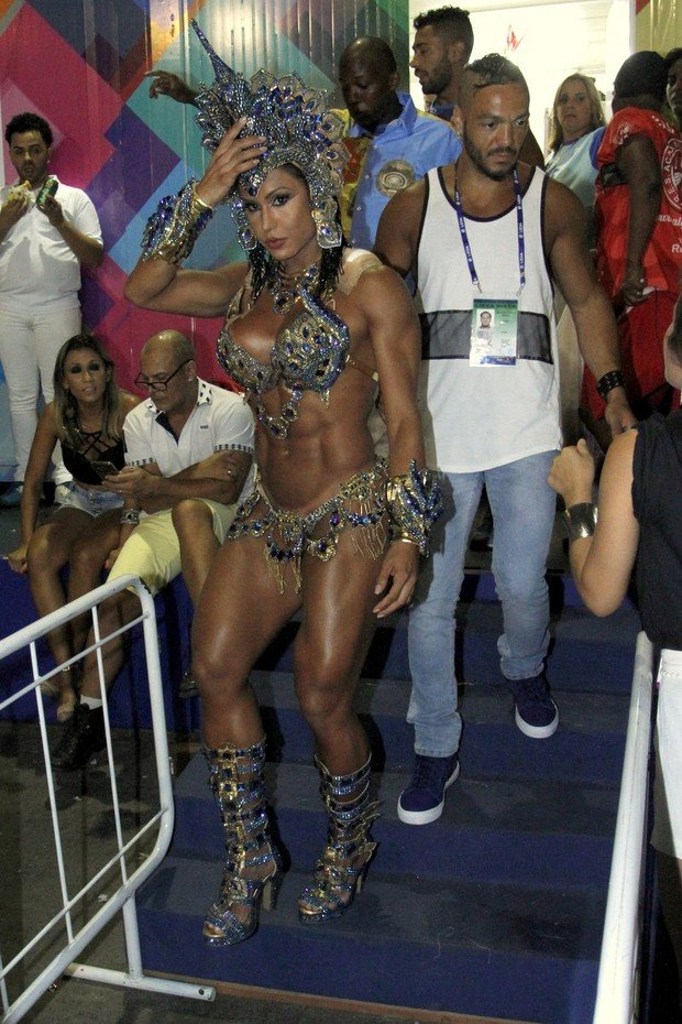 Gracyanne Barbosa e Belo (Crédito: Divulgação)