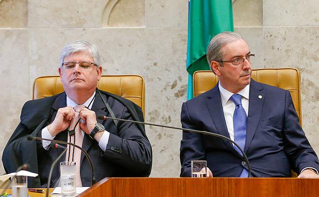 Procurador-geral da República, Rodrigo Janot, e o