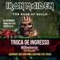Liberada troca de ingressos do show do Iron Maiden em Fortaleza