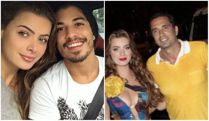 Douglas, Rayanne e Latino (Crédito: Reprodução)