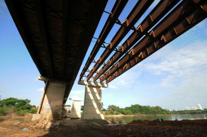 Duplicação da Ponte Wall Ferraz (Crédito: Francisco Leal)