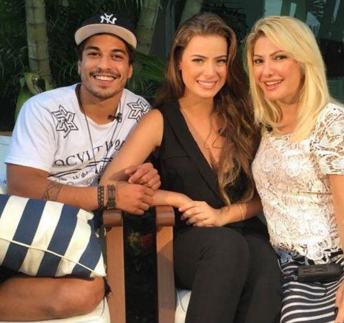 Douglas, Rayanne e Antônia (Crédito: Reprodução)