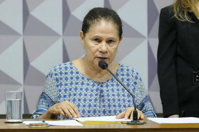 Senadora Regina Sousa (Crédito: Reprodução)