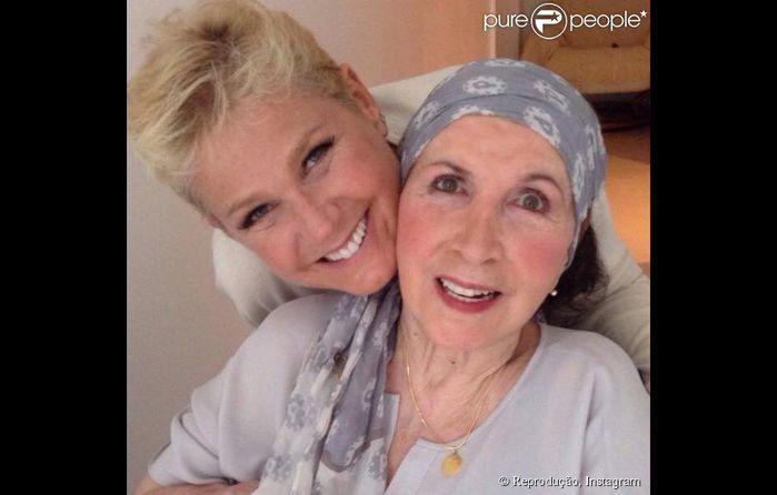 Xuxa e sua mãe, Alda (Crédito: Reprodução)
