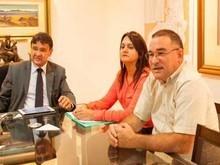 Wellignton Dias garante obras  de infraestrutura para Brasileira