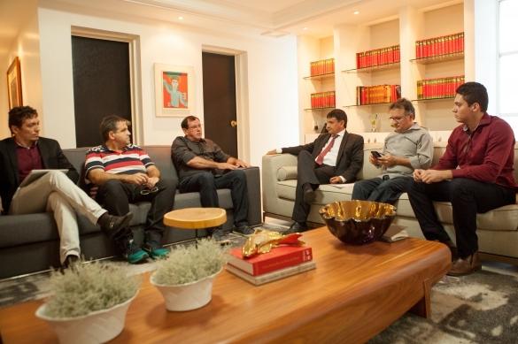 Reunião do governador Wellington Dias (Crédito: Reprodução)