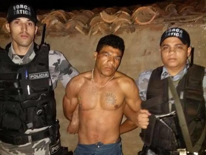 Acusado foi preso em São José do Piauí (Crédito: Reprodução)