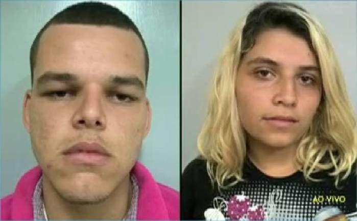 Casal acusado de matar o jovem (Crédito: Reprodução)