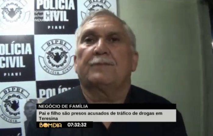 Delegado Menandro Pedro (Crédito: Reprodução/TV Meio Norte)