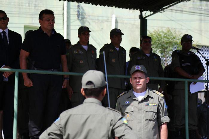 Troca de comando da polícia (Crédito: Tavynho Neto/SSP-PI)