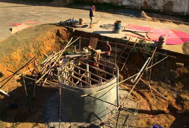 Reservatório tem capacidade de 15 mil litros