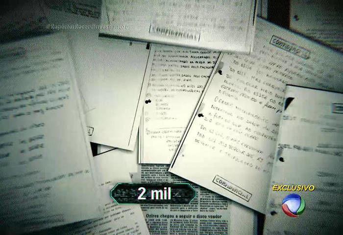 Documentos reveladores (Crédito: Reprodução)