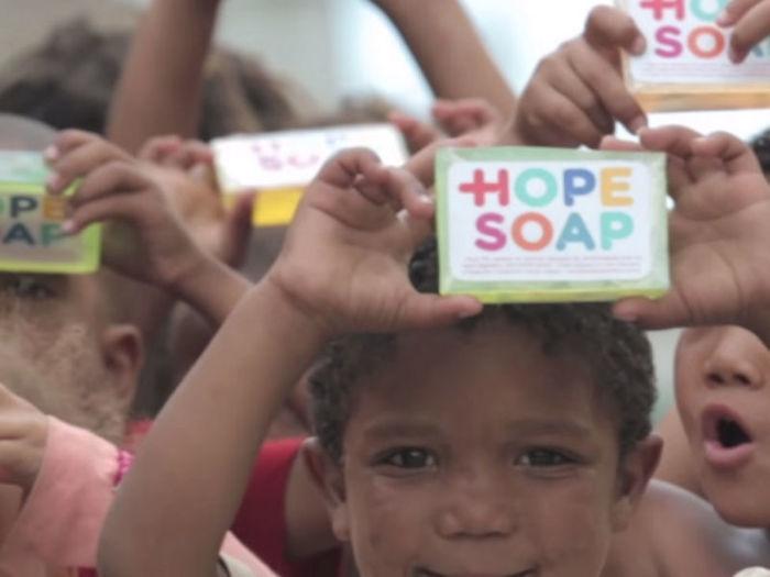 Sabonete da Esperança (Crédito: Divulgação)